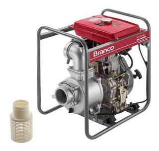 Motobomba Diesel 4 Polegadas Partida Elétrica - Branco