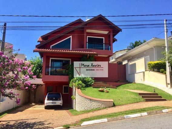 Sobrado Com 4 Dormitórios À Venda, 210 M² Por R$ 990.000 - Condomínio Recanto Dos Paturis - Vinhedo/sp - So0549