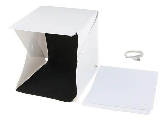 Caja De Fotografía Con Led De Luz Fotográfico Tienda Caja