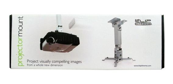 Base Para Proyector Klipx Fija 150 Con Angulo Blanco Nueva