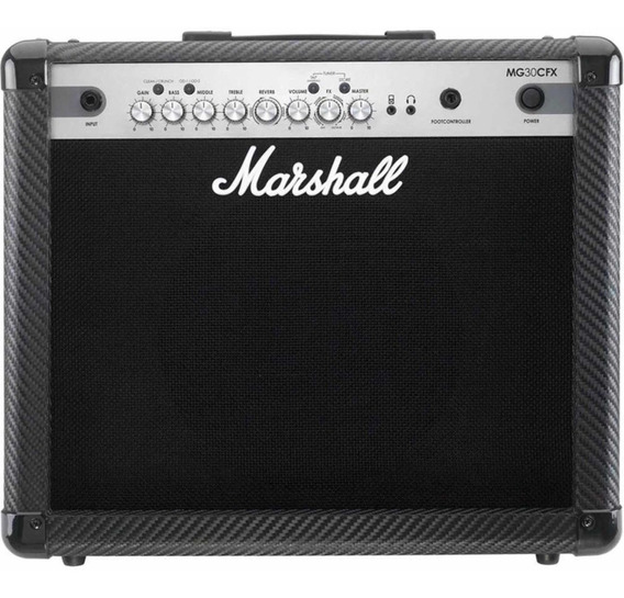 Cubo Guitarra Marshall Carbon Fiber Mg 30 Cfx