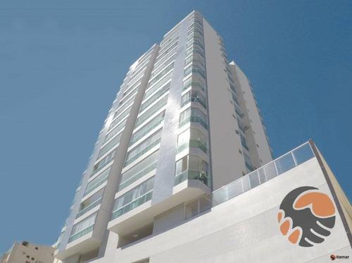 Imagem 1 de 9 de Apartamento Com 3 Quartos À Venda, 95 M²  - Praia Do Morro - Guarapari/es - Ap3612