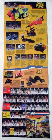 Catálogo Brinquedos Comandos Em Ação Gi Joe G.i.joe Vintage