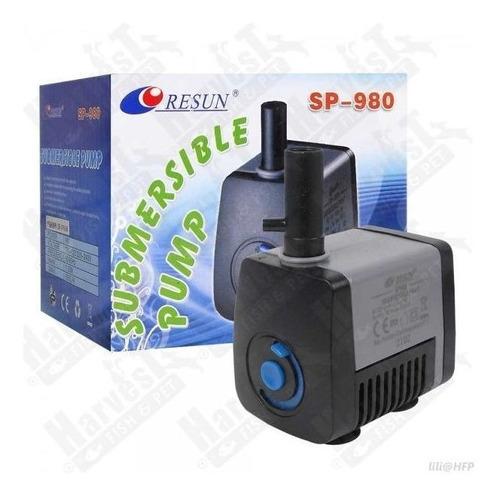 Sp 980 Capacidad 550 L/h Bomba De Agua Para Acuario O