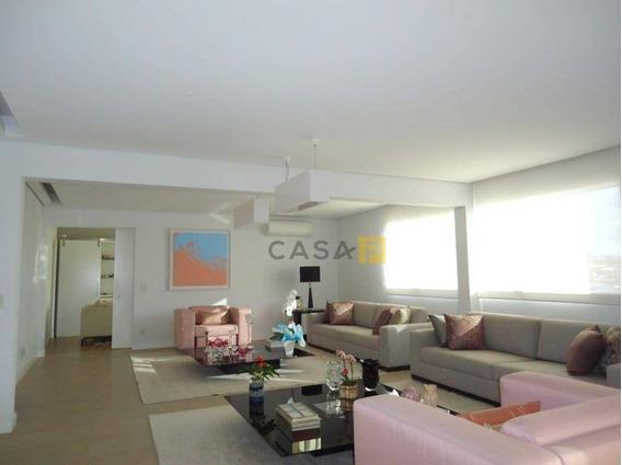 Apartamento Duplex Com 5 Dormitórios À Venda, 378 M² Por R$ 2.900.000 - Vila Santa Catarina - Americana/sp - Ad0004