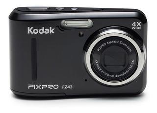 Kodak Pixpro Fz43-bk Cámara Digital 16mp Zoom Optico 4x Hd