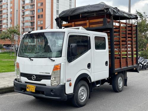 Camiones Nissan Cabstar Estacas Nt400 3000cc Tdi Mt Dh Fe 3t