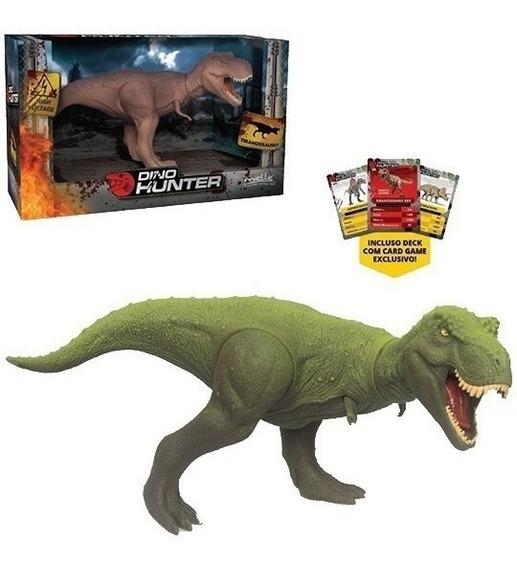 Dinossauro Tiranossauro Rex - C/ Card Game