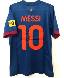 Camisa Barcelona 2009 Messi De Jogo Autografada