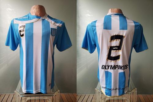 Camiseta Racing Club Olympikus 2010 #2 - Talle L