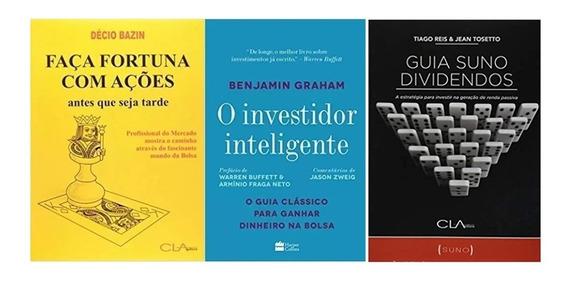 Faça Fortuna Com Ações + O Investidor Inteligente +guia Suno