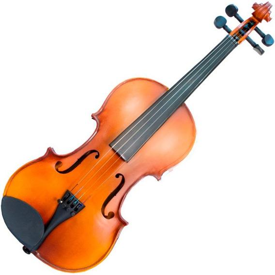 Violino 4/4 Com Estojo + Arco + Breu Kit Completo Benson