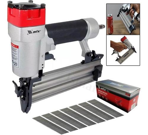 Pinador Pneumatico Para Pinos Mtx Profiss. + 5000 Pinos 10mm