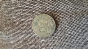 Moeda 50 Centavos 1956