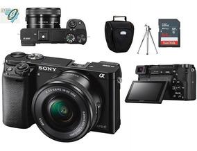 Sony Alpha A6000 16-50mm + Bolsa + Tripé + 64gb Classe 10