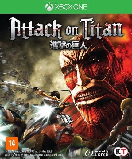 Jogo Novo Mídia Física Attack On Titan Para Xbox One