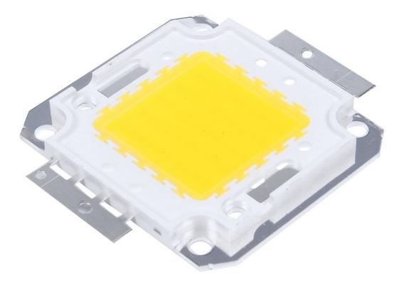 Kit 10 Chip Led 50w Para Reposição De Refletor 50w 100w 150w