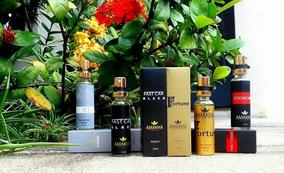 5 Mini Perfumes Importados