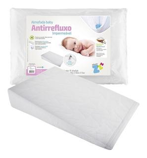Travesseiro Anti-refluxo Baby Rampa Terapêutica Fibrasca
