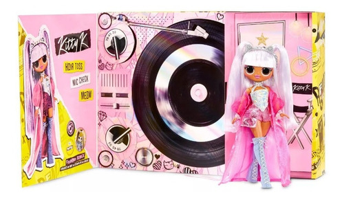 Muñeca L.o.l. Omg Remix Kitty K Fahsion Musical 25 Sorpresa