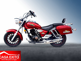 Moto Ranger Luxury 200cc Gris Año 2018