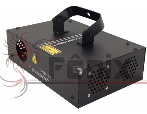 2 Laser Rgb B2000 Gráfico Dmx Auto Ativado Por Som Dj