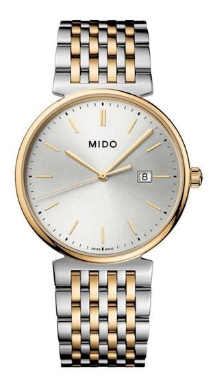Reloj Mido Caballero Colección Dorada M0334102203100