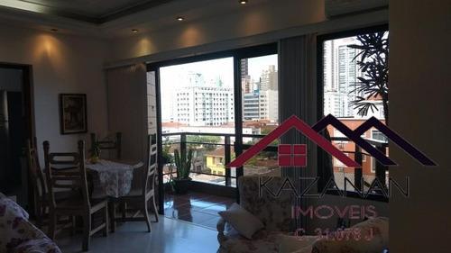 Imagem 1 de 15 de Apto. P/ Venda Com 3 Dormitórios + Dependência, No Campo Gde - 1037