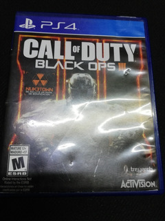 Call Of Duty, Black Ops Iii Para Ps4 De Uso.