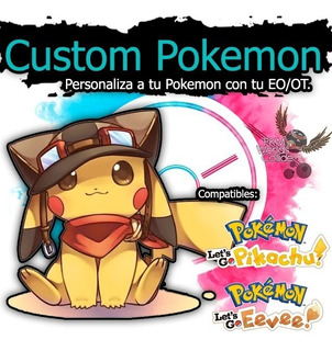 Pokemon Shiny Personalizados 6ivs, Let