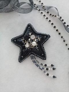 Broche Estrella Fugaz - Aplique Para Ropa