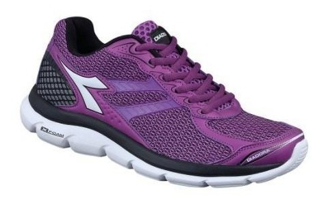 Tênis Diadora Black Purple Flow Feminino 125613