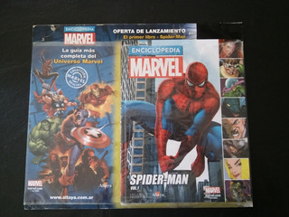 Enciclopedia Marvel Spiderman Vol. 1 Altaya