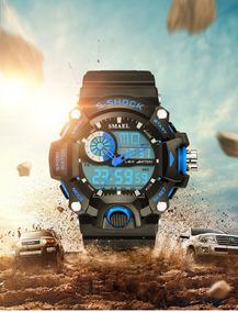 Relógio Masculino Esportivo Smael Digital Original Promoção