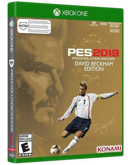 Pro Evolution Soccer 2019 ( Edição David Beckham ) Xbox One