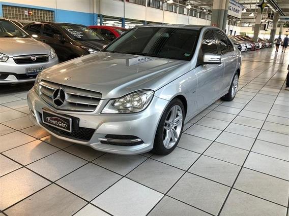 Mercedes-benz C-180 1.6 Cgi Classic 16v Turbo Gasolina 4p Au