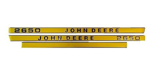 Kit De Adhesivos Tractor John Deere 2650 - Compatible