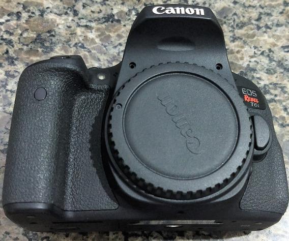 Câmera Canon Eos Rebel T6i - Para Retirar Peças!!!