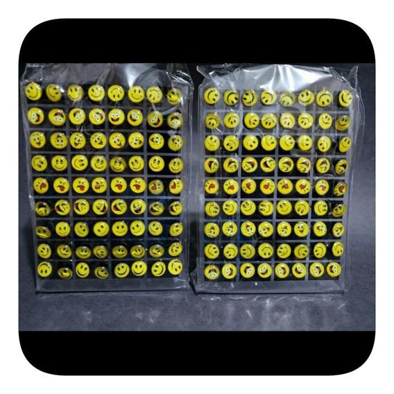 Brinco Emoji Whatsapp 2 Cartelas 72 Pares Ref B50
