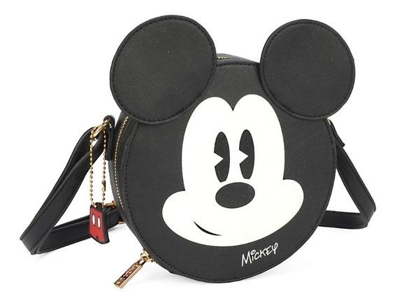 Kit Com 2 Bolsas + Carteira Mickey Licenciado / Original