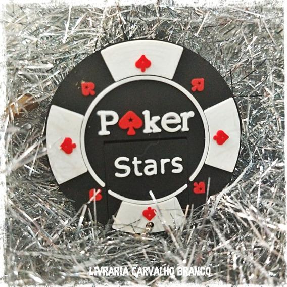 Pen Drive Diferente Para Presente 32gb Ficha Poker Stars