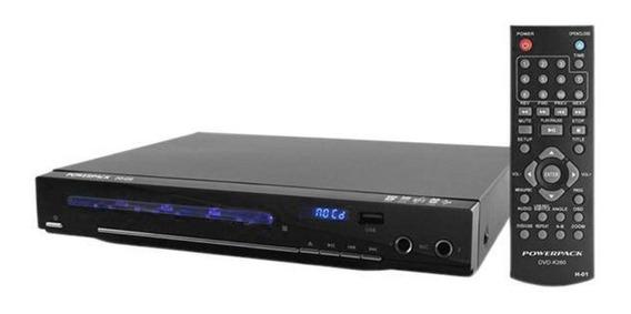 Dvd Powerpack Dvd-k260 Com Karaokê/usb - Com Nota Fiscal