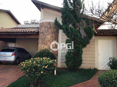 Casa Com 3 Dormitórios À Venda, 160 M² Por R$ 680.000 - Condomínio Residencial Alto Bonfim I - Ribeirão Preto/sp - Ca2724