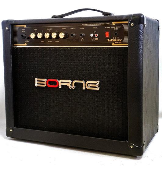 Amplificador Guitarra 50w Borne Vorax 1050 Preto Oferta!