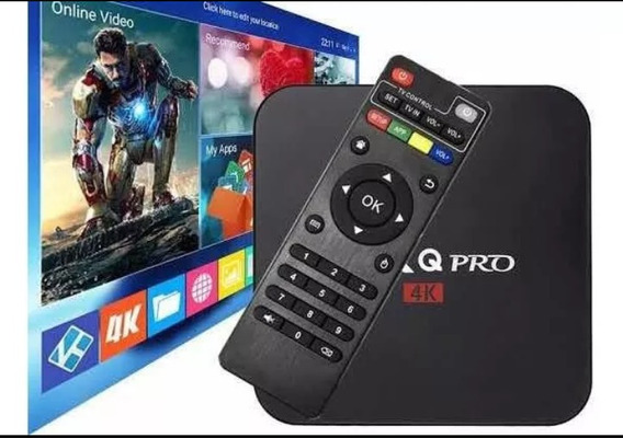 Smart Tv Box Com Android 8.1