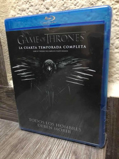 Game Of Thrones Juego De Tronos Temporada 4 Blu-ray