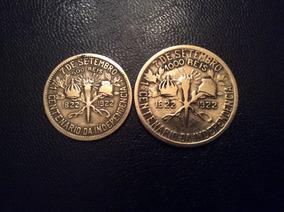 Moedas 500 E 1000 Réis De 1922 - Centenário Da Independência