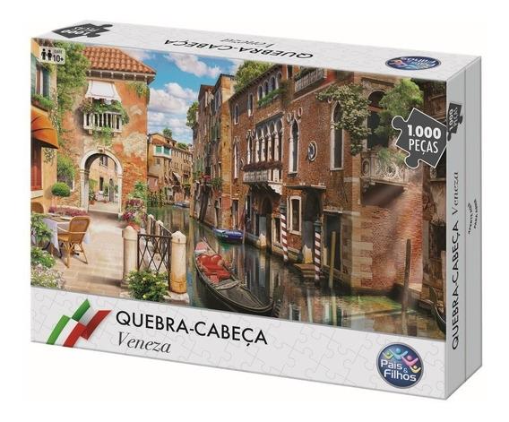 Quebra-cabeça 1000 Peças - Veneza - Pais & Filhos