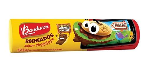 Bolacha Recheados  Chocolate Bauducco 140g