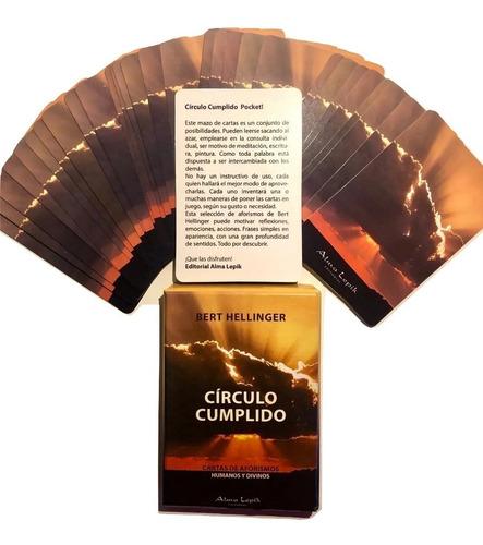 Imagen 1 de 5 de Bert Hellinger - Cartas Únicas - Círculo Cumplido Pocket
